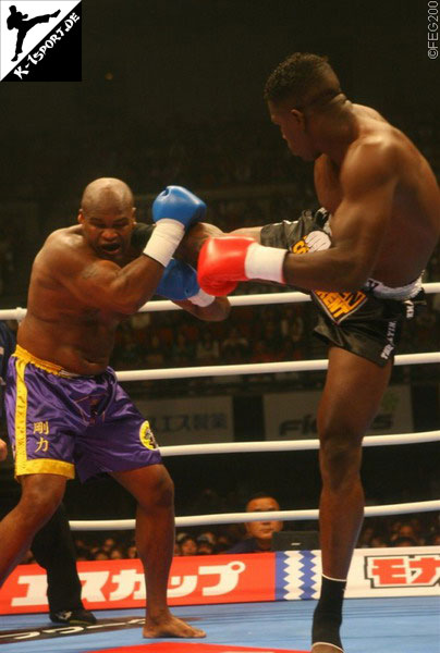 Gary Goodridge, Remy Bonjasky (K-1 World Grand Prix 2006 Final Elimination)