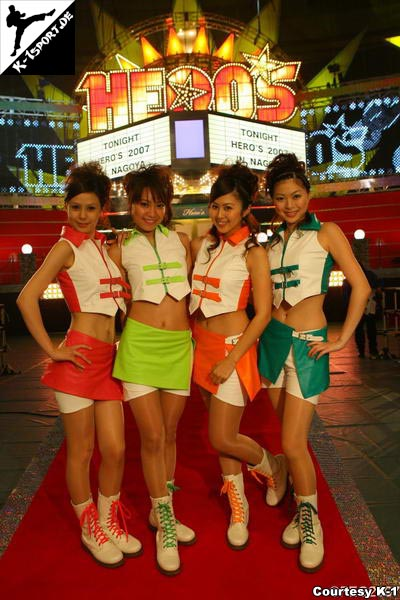 Hero's Ring-Girls  (Olympia Hero's 2007 in Nagoya)