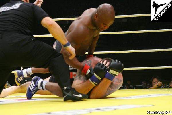 Gary Goodridge, Jan 'The Giant' Nortje (Olympia Hero's 2007 in Nagoya)