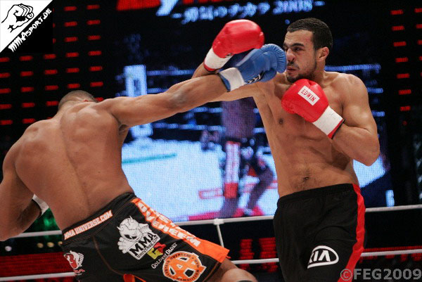 Alistair Overeem vs. Badr Hari