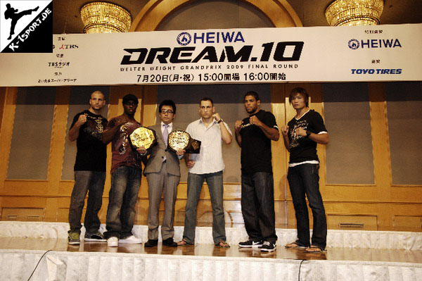 DREAM.10 Welter Weight Press Conference