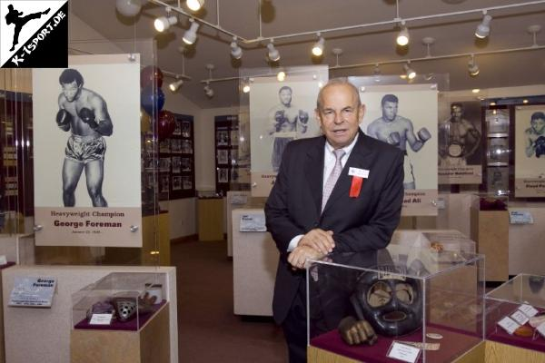 Wilfried Sauerland in der Hall of Fame
